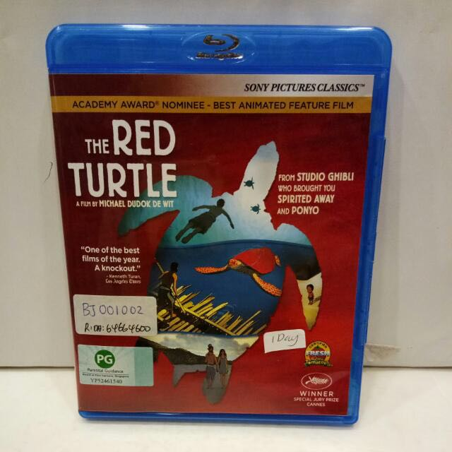 The Red Turtle Studio Ghibli Music Media Cds Dvds Other Media On Carousell