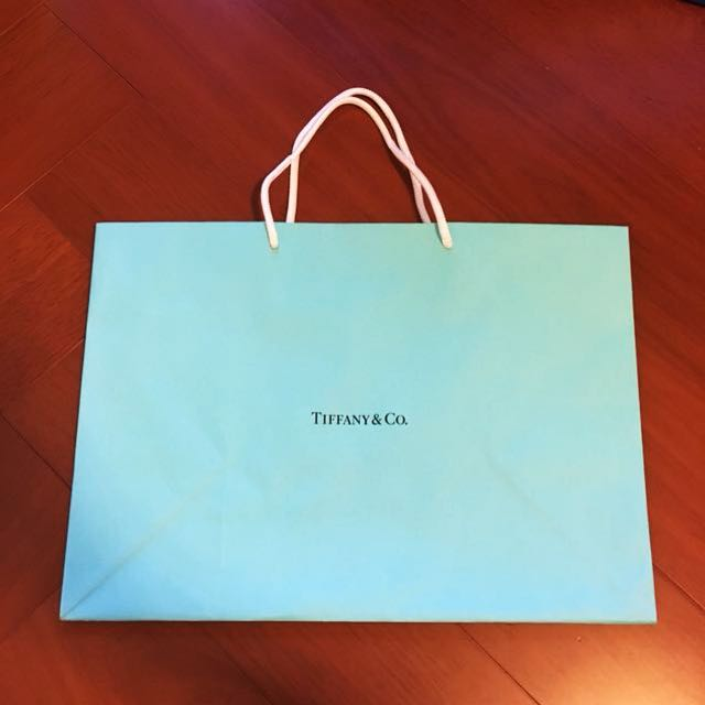Tiffany 紙袋 提袋 39cm*28cm