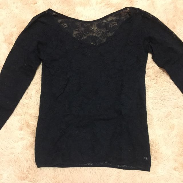 Transparant Lace top
