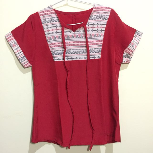 Tribal Red Top