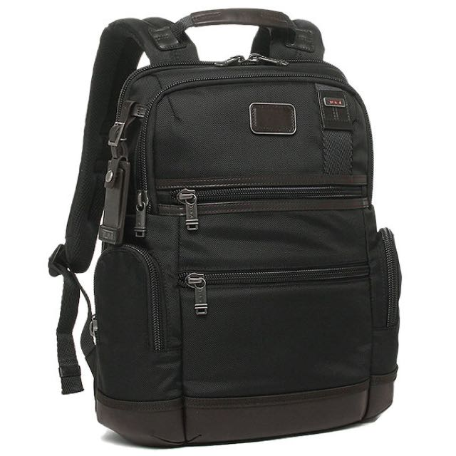 Tumi Alpha Bravo Knox Backpack Hickory Black Men S Fashion Bags Wallets On Carou