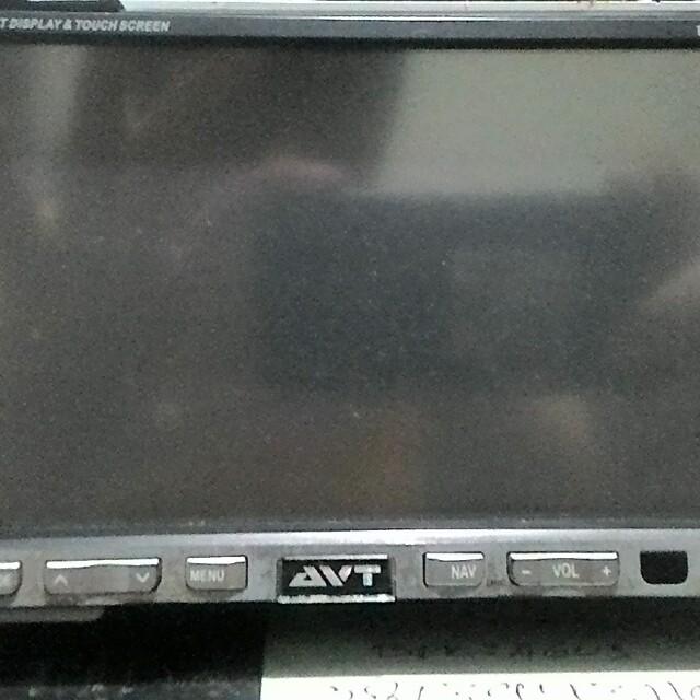 Tv mobil Avt double bin