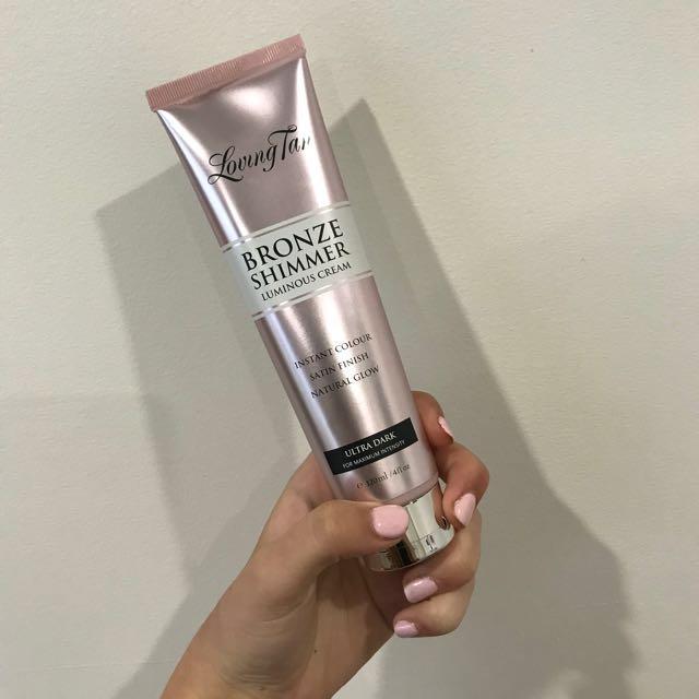 Ultra Dark Bronze Shimmer Cream