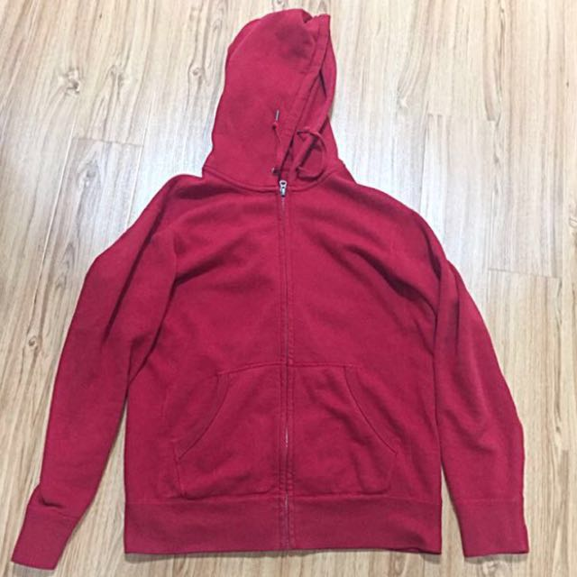 Uniqlo Red Hoodie