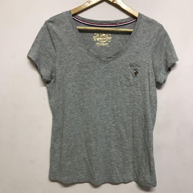 US Polo 灰t Shirt