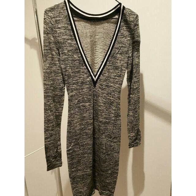 V Neck Dress | Size 8