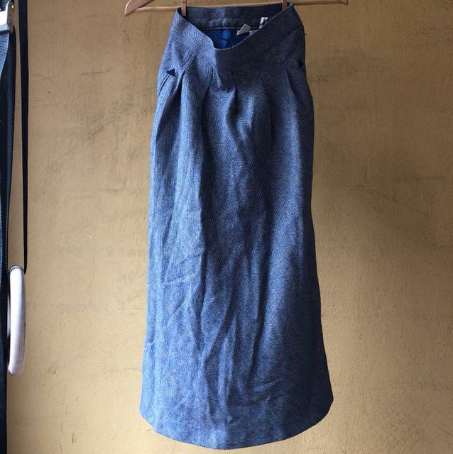 Vintage ladies wool skirt