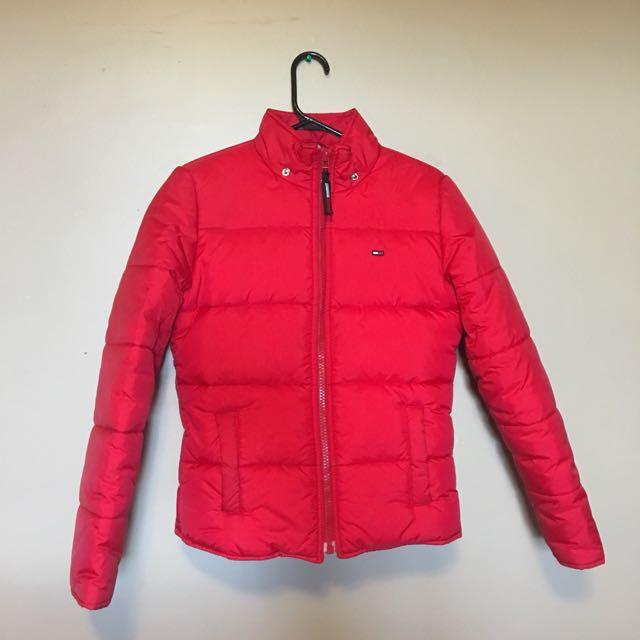 Vintage Tommy Hilfiger puffy jacket