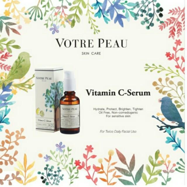 Bundling Votre Peau Vitamin C Serum dan Sun Shield