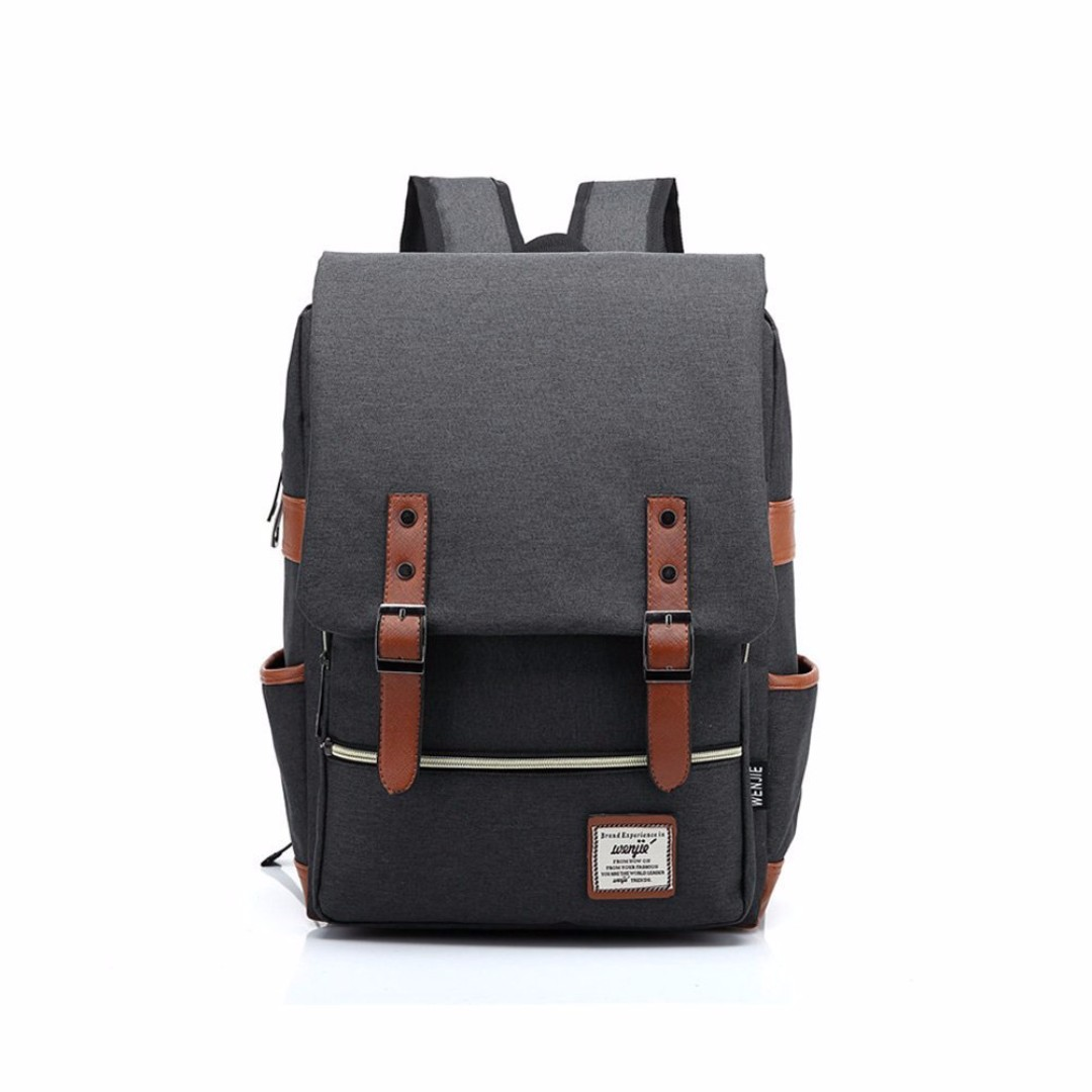 Wenjie Vintage Backpack Bag