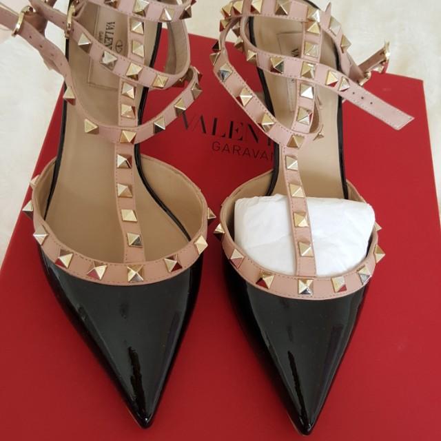 Valentino rockstud kitten heels size 38.5