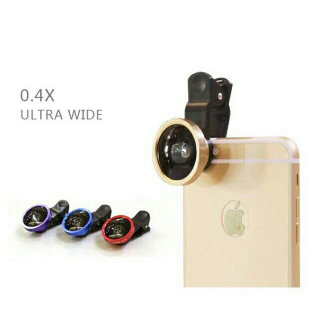 Universal Wide angle lens for mobile phone