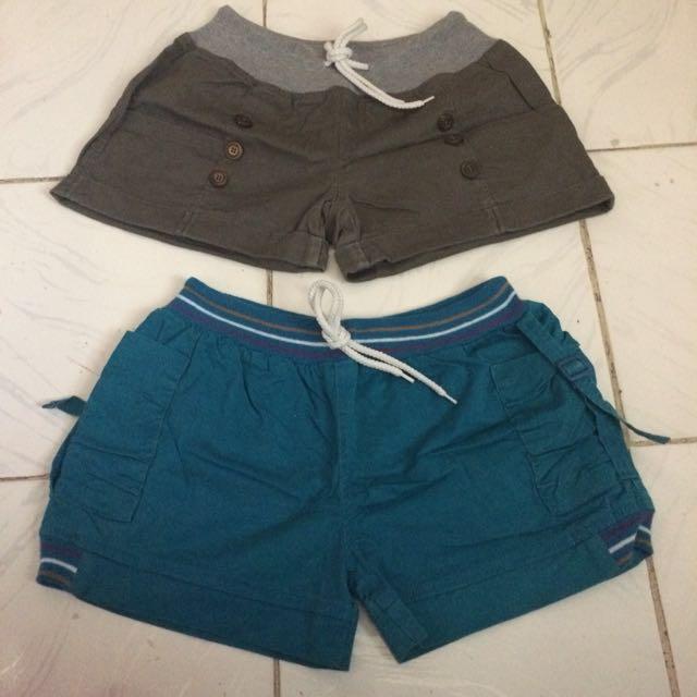 Women's Shorts 2pcs