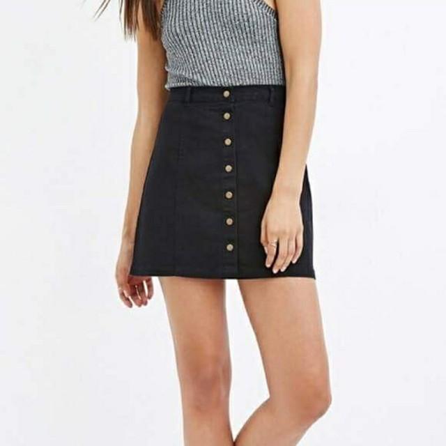 ZARA Buttondown Skirt