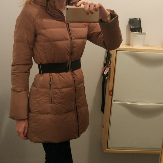 Zara down coat jacket