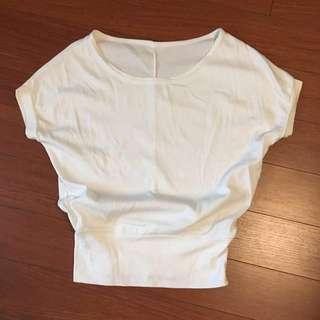 White Shirt, short sleeved