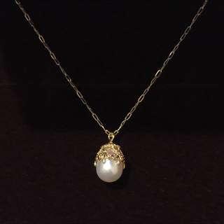 日本製10K超美巴洛克珍珠項鍊 japan VA JILL STUART ete 4℃ MIKIMOTO Agete