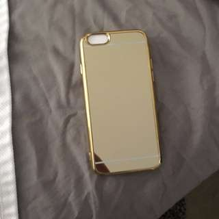 Iphone 6 Gold Mirror Covers