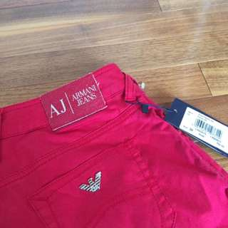 Armani Jeans Red