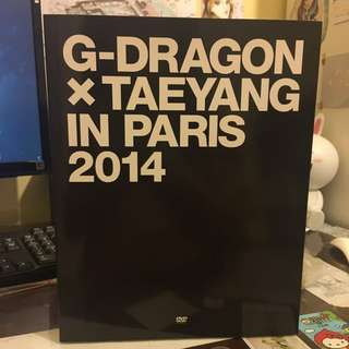 G-dragon&Taeyang in Paris寫真書