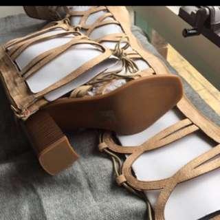 Gladiator sandals heels
