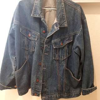 Vintage CORFU blue denim jacket