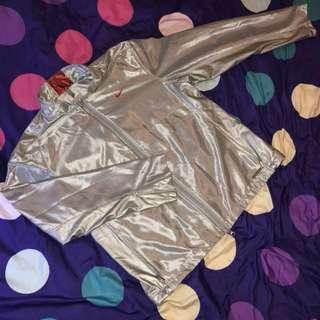 全台一件 全球限量 極少量 NIKE MMIV 奧運 2004 銀色紅 全透氣網 休閒 運動外套
