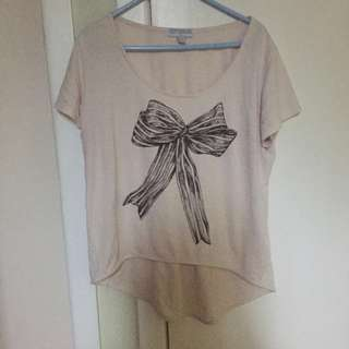 Crop top With bow