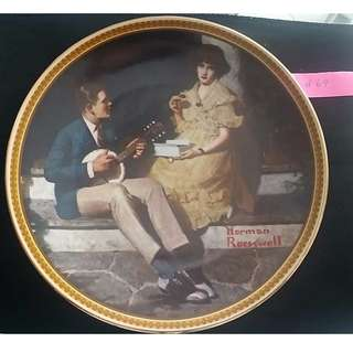 Pondering on the pouch by Norman Rockwell (or best offer)