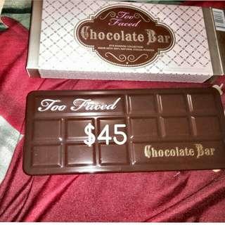 BNIB Too Faced Chocolate Bar Palette