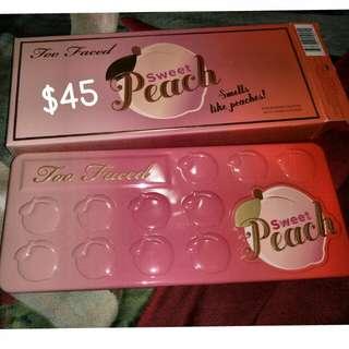 BNIB Too Faced Sweet Peach Palette