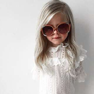 ✔️STOCK - PREMIUM VINTAGE RUFFLED WHITE LACE BABY GIRL CASUAL SUN DRESS KIDS CHILDREN CLOTHING