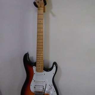 Fernando unique electric guitar with whammy bar