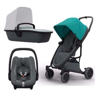 Quinny Zapp Flex Plus Carrycot Travel System