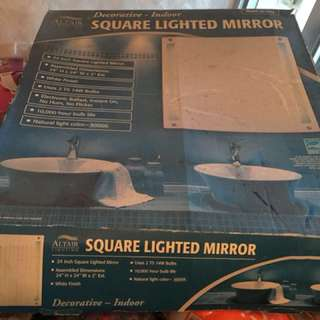 全新方型浴室鏡