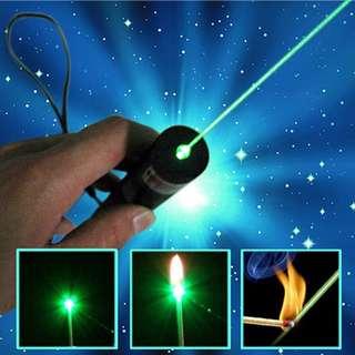 Green Starry Laser Pointer - Black (EU Plug)