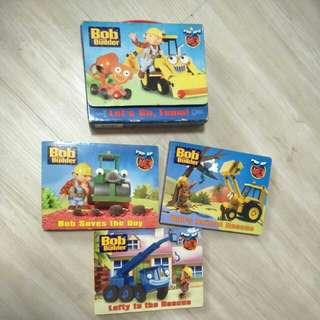 Bob the builder - Pop up Book - 3 books