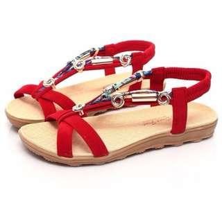 Roman style sandals sz 8
