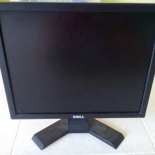 "Dell LCD Monitor 17"""