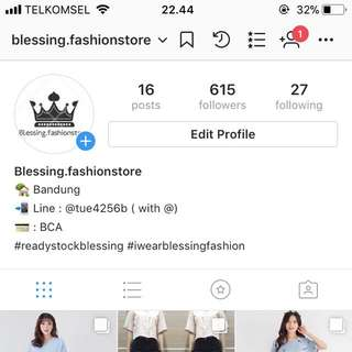 Follow my Olshop