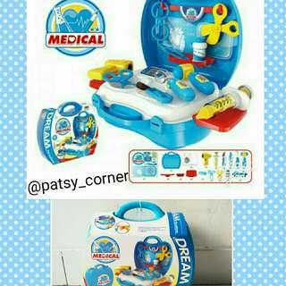 Mainan Dream suitcase medical