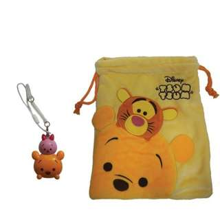 Winnie the Pooh and Piglet Ez-Charms - Tsum Tsum