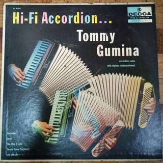 REPRICED: Vintage Accordion Solo Jazz by Tommy Gumina Vinyl