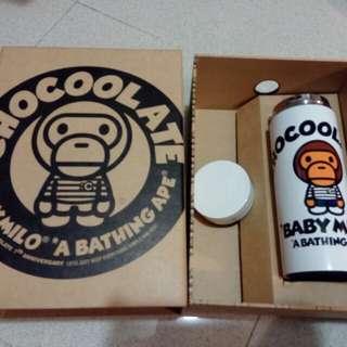 Chocolate bape milo 暖水壺
