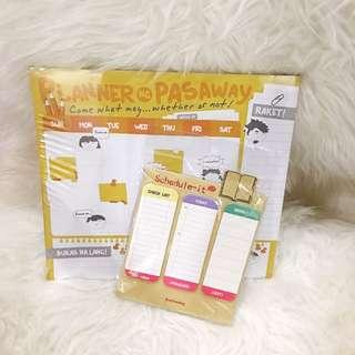 Calendar Planner + Sticky Notes