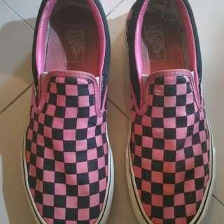 Vans checkboard slip-on