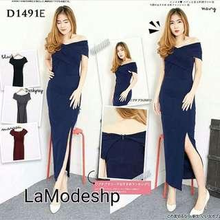 Dress slit D1491E