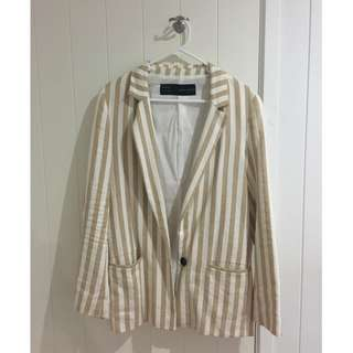 Zara UK womens blazer