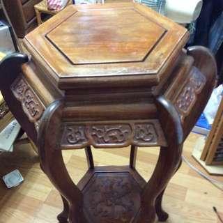 雕刻木座(降價出售❕)