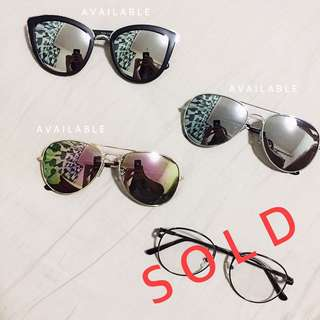 Sunglasses (For Sale - 1 Sold)